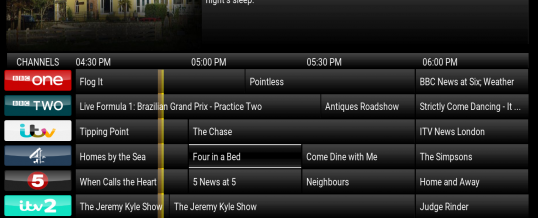 iVue TV Guide No Program Information FIX