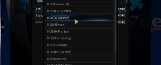 iVue TV Guide Change XML/Channel List